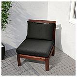 ХОЛЛО Подушка д/садовой мебели, черный, фото 2