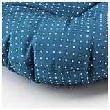 ИТТЕРОН Подушка на садовый стул, синий, фото 4