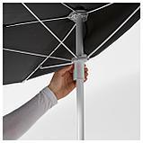 БРАМСОН / ФЛИСО Зонт от солнца с опорой, черный, фото 5