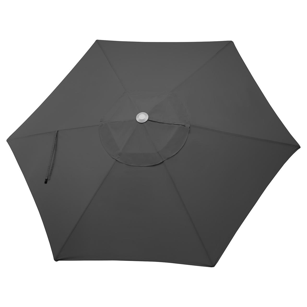ЛИНДЭЙА Купол зонта от солнца, черный