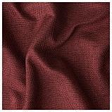 АННАКАЙСА Гардины, блокирующие свет, 1 пара, коричнево-красный, фото 2