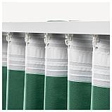 АННАЛУИЗА Гардины, 1 пара, зеленый, фото 2