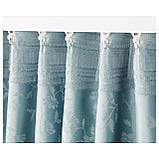 ЛИЗАБРИТТ Гардины с прихватом, 1 пара, синий, фото 3
