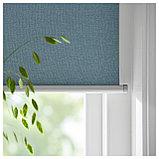 ТРЕТУР Рулонная штора, блокирующая свет, голубой, фото 3