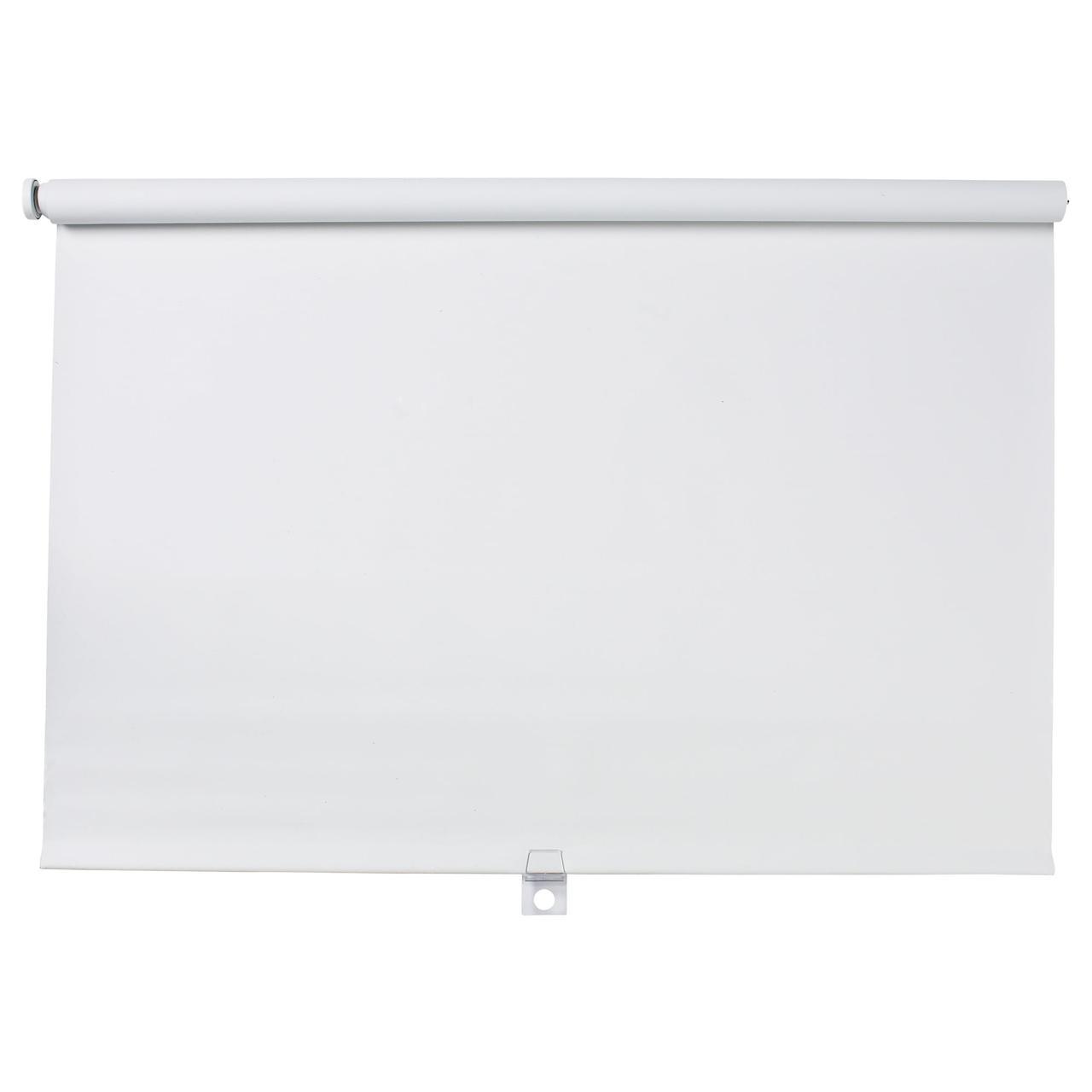 ТУППЛЮР Рулонная штора, блокирующая свет, белый