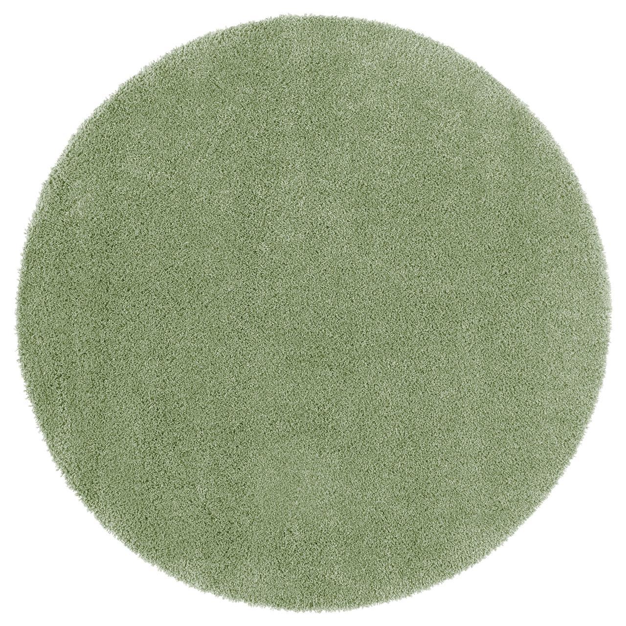 ОДУМ Ковер, длинный ворс, светло-зеленый