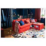 ВИДЕБЭК Ковер безворсовый, разноцветный ручная работа, разноцветный, фото 5