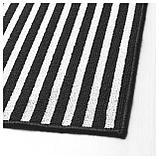 ВИНСТРУП Придверный коврик, черный/серый, фото 3
