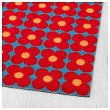 СОММАР 2019 Придверный коврик, маленькие цветы синий, красный, фото 2