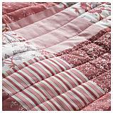 ВОРРЮТА Покрывало, белый, розовый, фото 3
