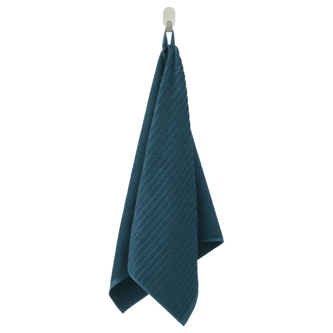 ВОГШЁН Полотенце, темно-синий