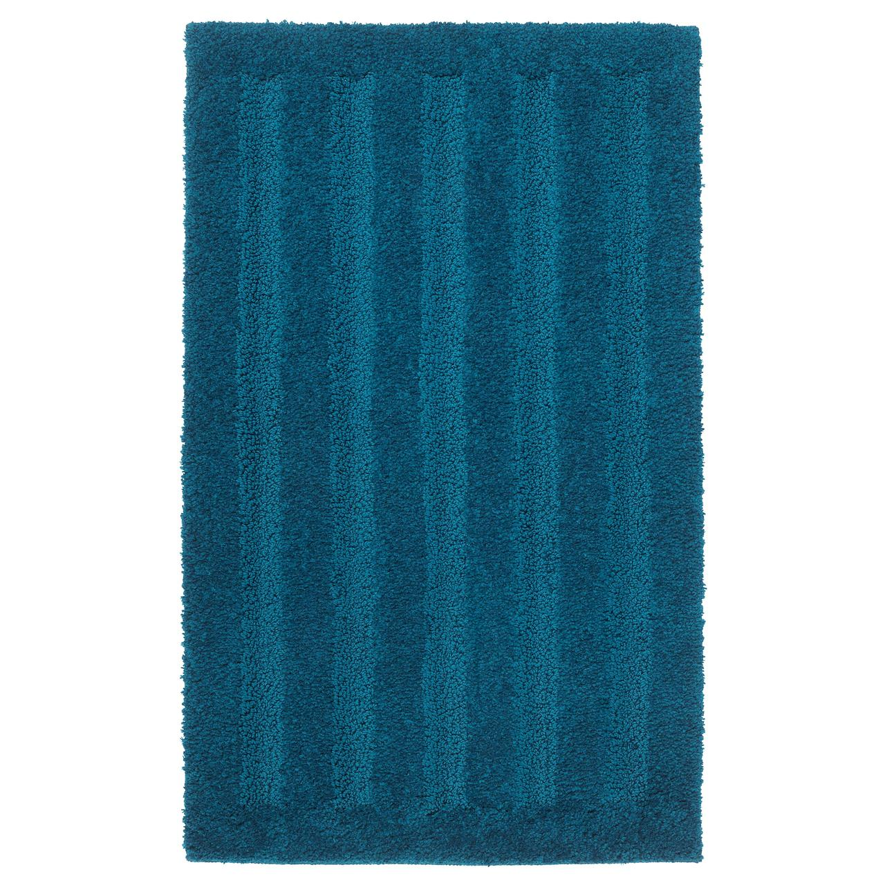 ЭМТЕН Коврик для ванной, темно-синий