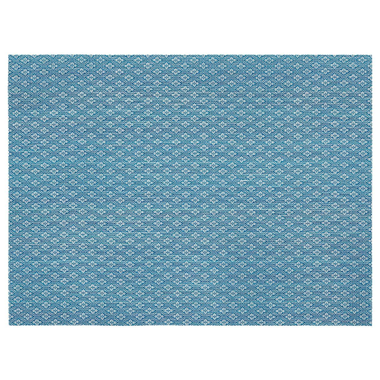 ГАЛЛЬРА Салфетка под приборы, синий, с рисунком