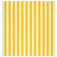СОФИА Ткань, в широкую полоску, белый/желтый