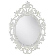 ВИКЕРСУНД Зеркало, овал, белый
