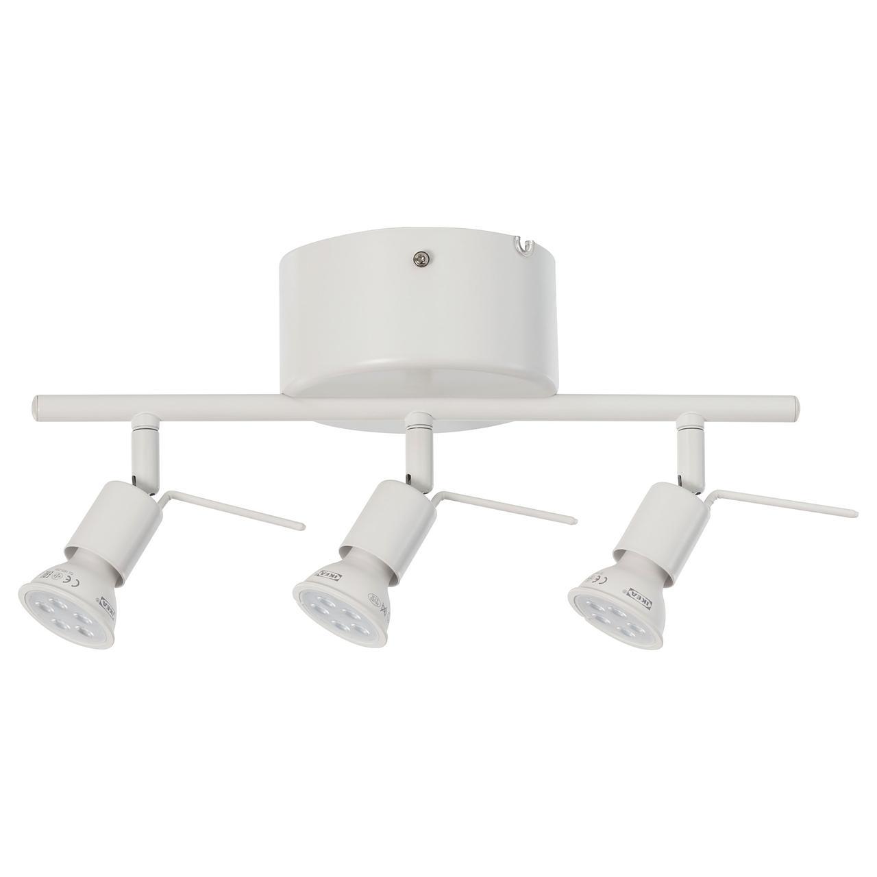 ТРОСС Потолочная шина, 3 лампы, белый