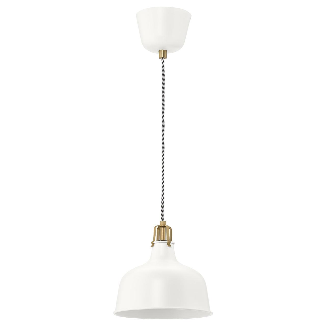 РАНАРП Подвесной светильник, белый с оттенком