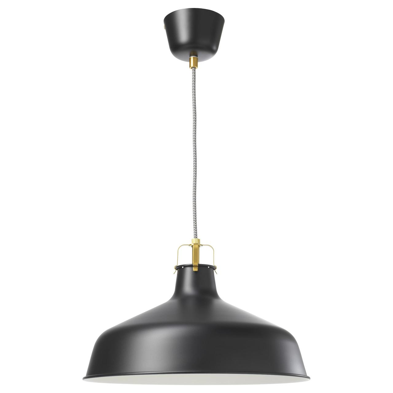 РАНАРП Подвесной светильник, черный