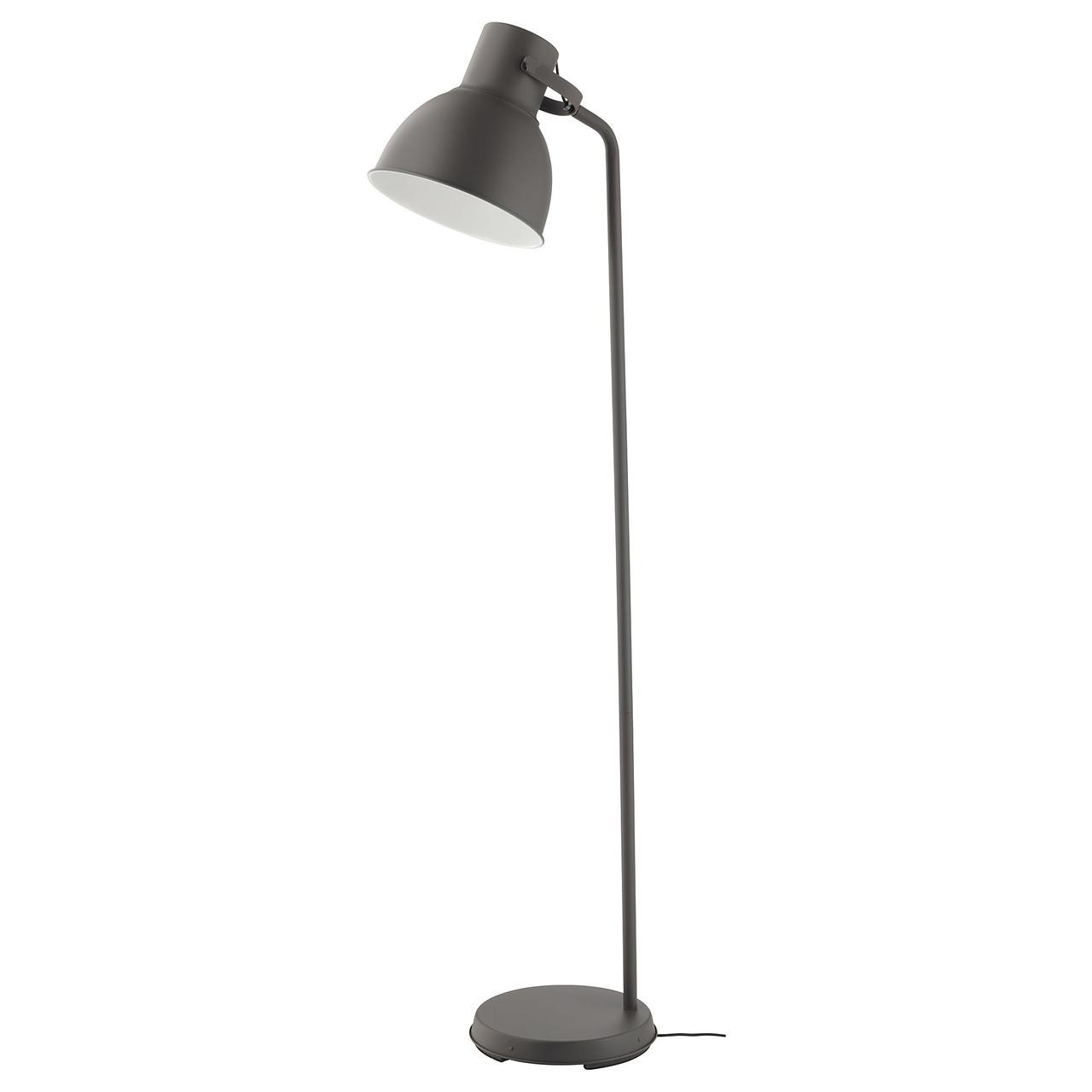 ХЕКТАР Светильник напольный, темно-серый