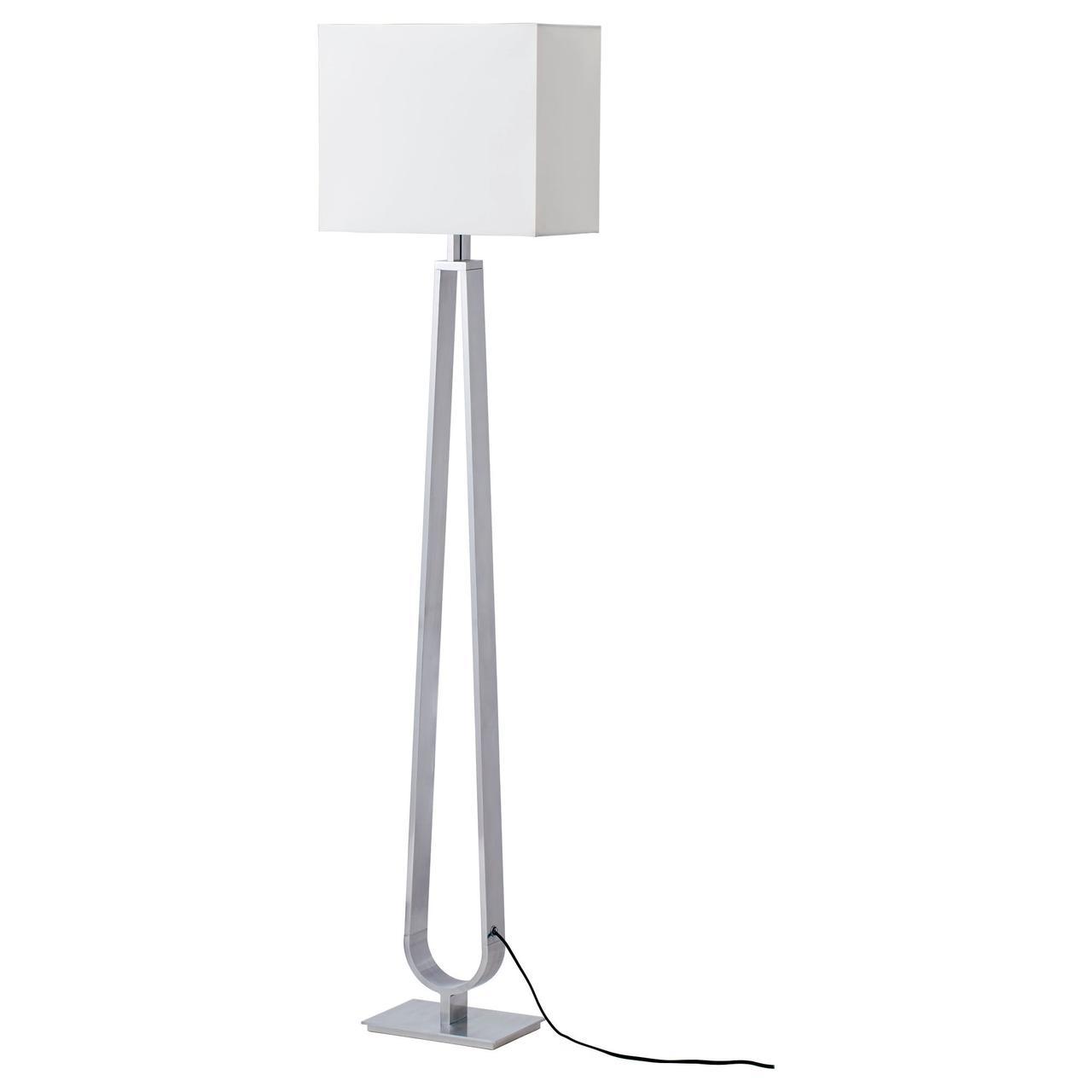 КЛАБ Светильник напольный, белый с оттенком