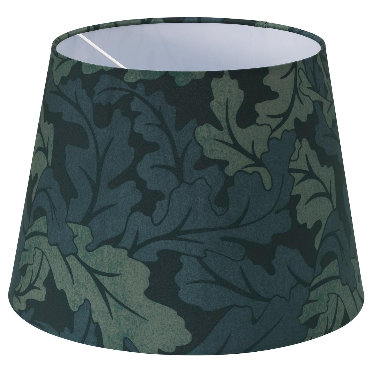 РЮРА Абажур, темно-зеленый лист