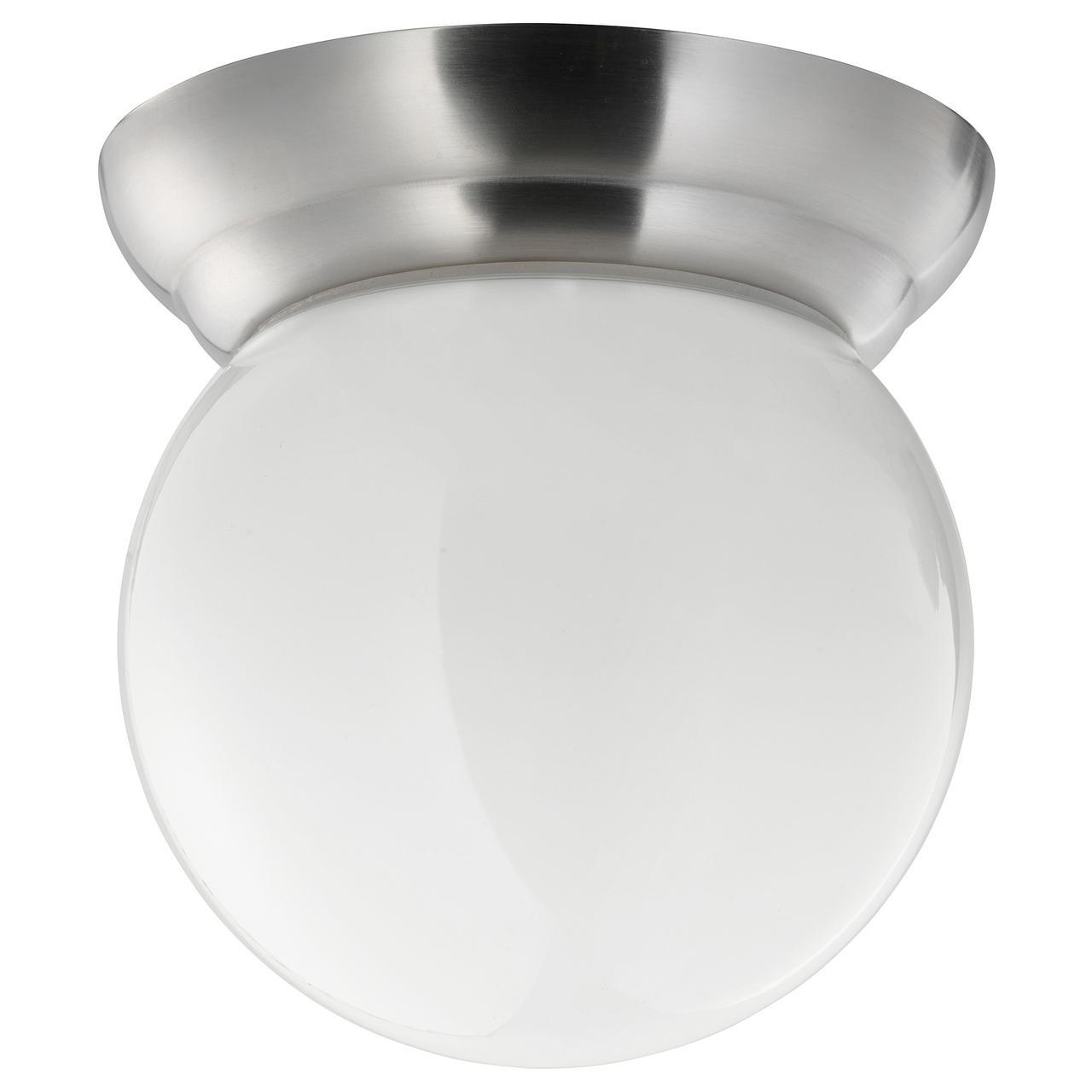 ЛИЛЬХОЛЬМЕН Люстра/бра, никелированный, белый