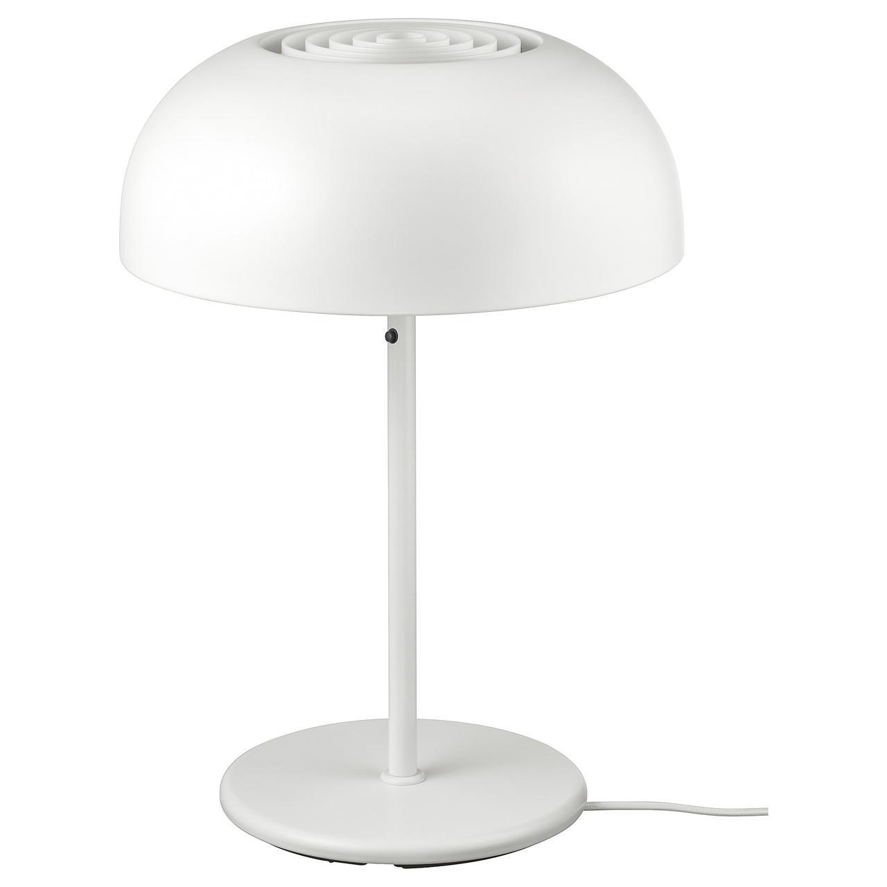 НИМОНЕ Лампа настольная, белый