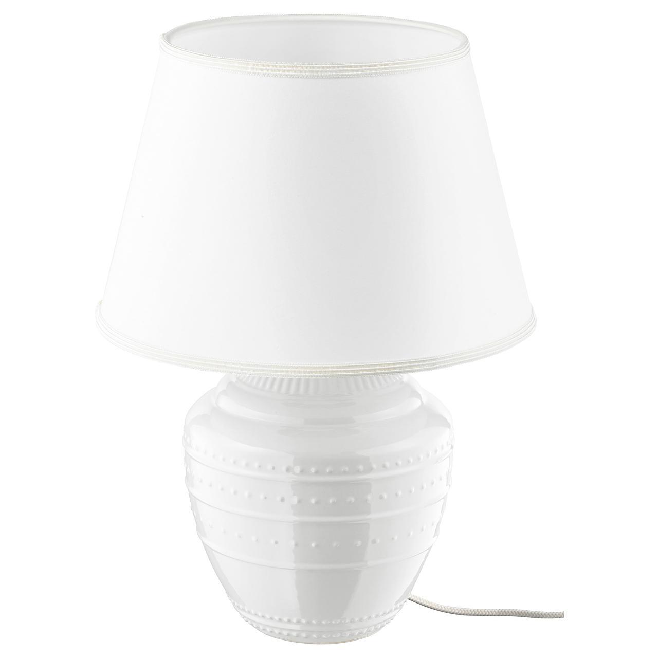 РИККАРУМ Лампа настольная, белый