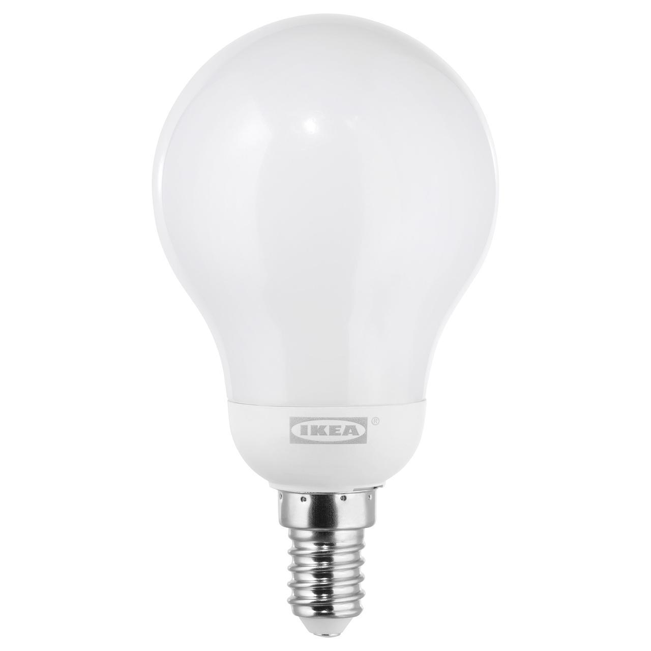 ЛЕДАРЕ Светодиод E14 600 лм, регулируемая яркость регулируемая яркость, теплый, шарообразный молочный