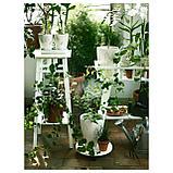 ЛАНТИВ Пьедестал для цветов, белый, фото 6