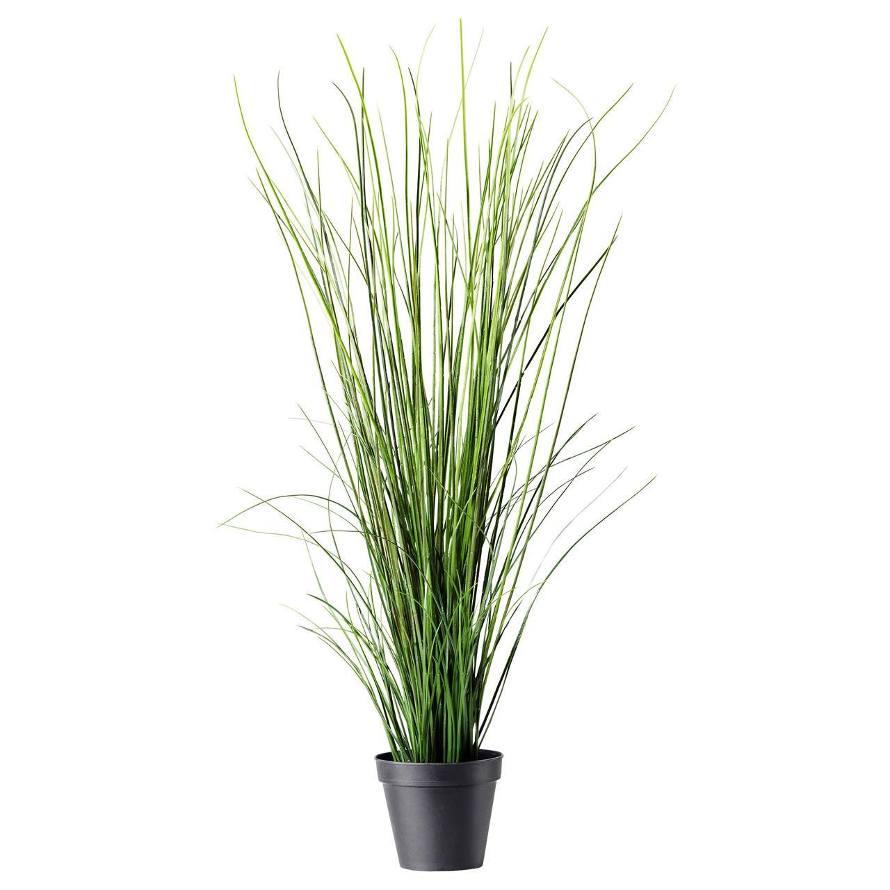ФЕЙКА Искусственное растение в горшке, трава