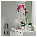 ФЕЙКА Искусственное растение в горшке, Орхидея розовый, фото 2