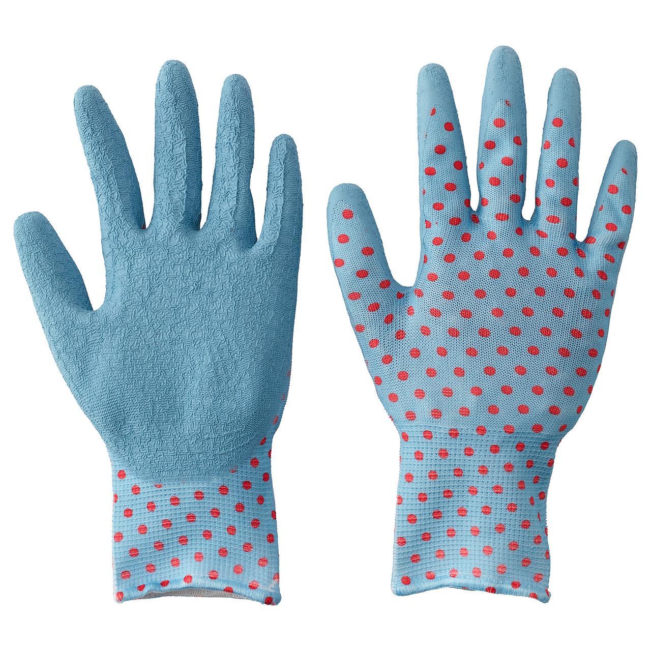 КРИДНЕЙЛИКА Садовые перчатки, красный, синий