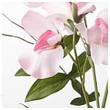 СМИККА Цветок искусственный, душистый горошек, светло-розовый, фото 2
