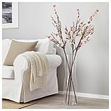 СМИККА Цветок искусственный, цветы вишни, розовый, фото 3