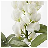 СМИККА Цветок искусственный, Люпин, белый, фото 2