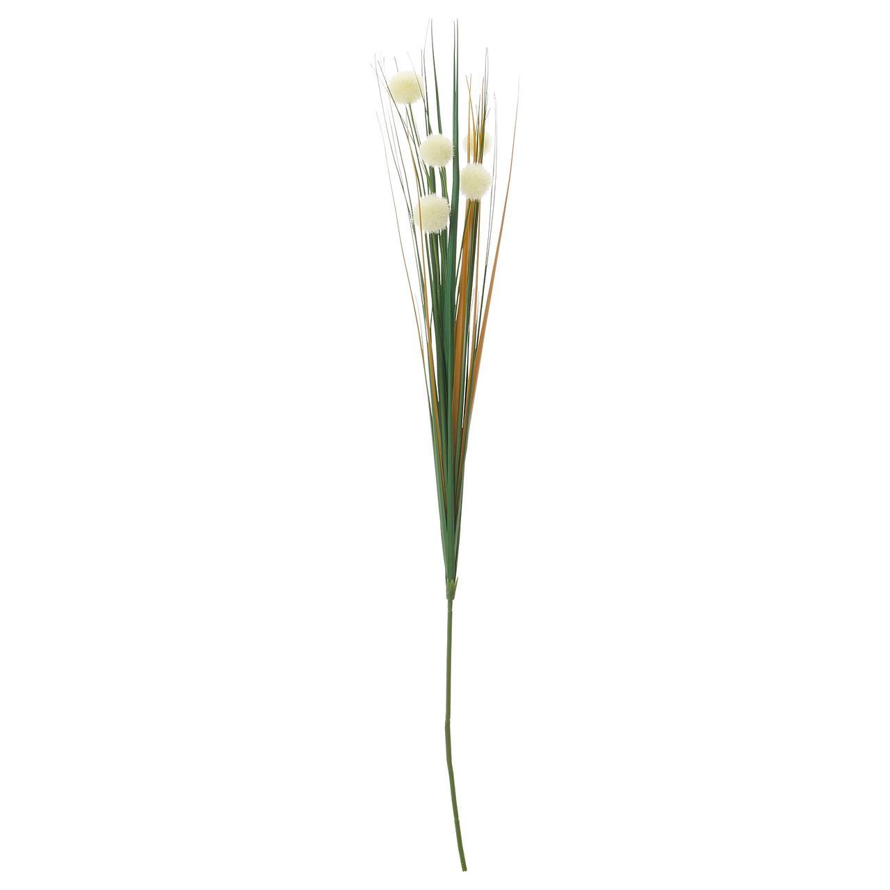 СМИККА Цветок искусственный, белый
