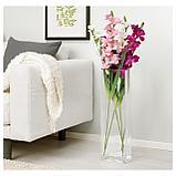 СМИККА Цветок искусственный, Гладиолус, белый, фото 2