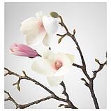 СМИККА Цветок искусственный, Магнолия, розовый, фото 3