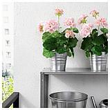 ФЕЙКА Искусственное растение в горшке, д/дома/улицы, Герань розовый, фото 4