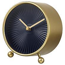 СНОФСА Настольные часы, желтая медь
