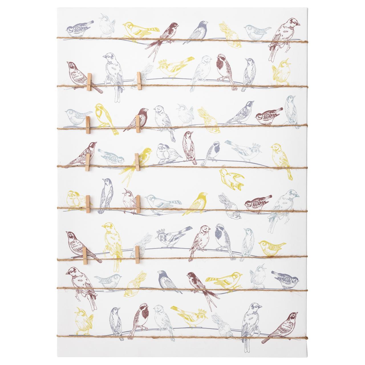 ПЬЕТТЕРИД Картина, птицы