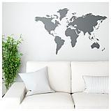 КЛЭТТА Декоративные наклейки, карта мира, фото 2