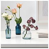 СОММАР 2019 Набор ваз,3 штуки, синий, фото 2