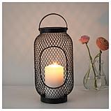 ТОППИГ Фонарь для формовой свечи, черный, фото 2