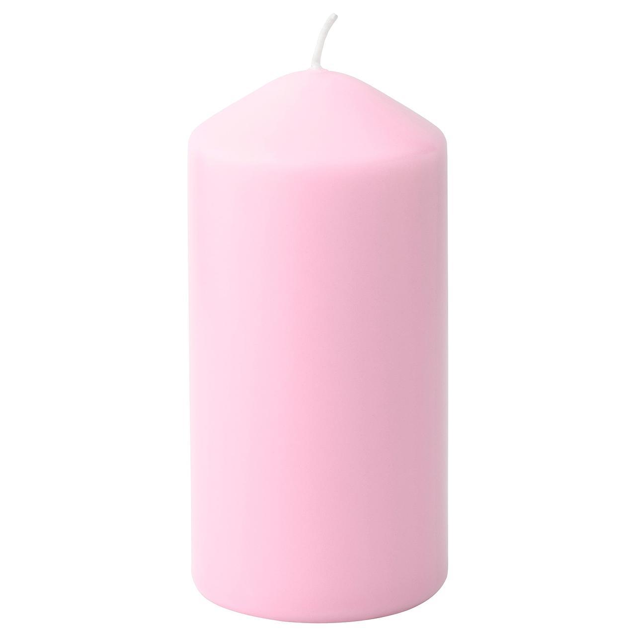 ДАГЛИГЕН Неароматич свеча формовая, розовый