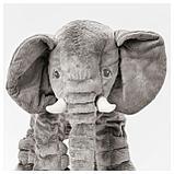 ЙЭТТЕСТОР Мягкая игрушка, слон, серый, фото 2