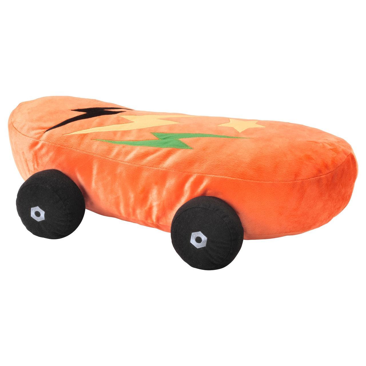 ЛАТТО Мягкая игрушка, скейтборд, оранжевый
