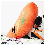 ЛАТТО Мягкая игрушка, скейтборд, оранжевый, фото 2