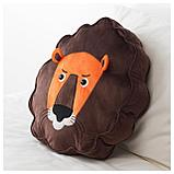 ДЬЮНГЕЛЬСКОГ Подушка, лев, коричневый, фото 2